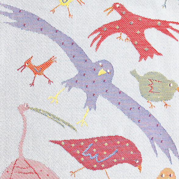 Fabric 145cm Birds Small