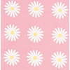 Fabric 145cm Daisy Small Pink