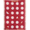 Towel Daisy Red