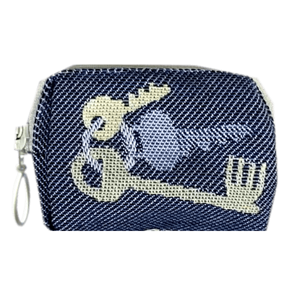 Toilet bag 8cm  Keys Blue