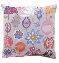 Cushion cover 45x45 Flowers Small
