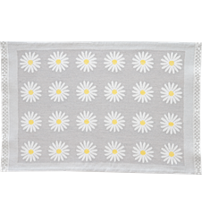 Table mat Daisy Light-grey