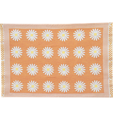 Table mat Daisy Orange
