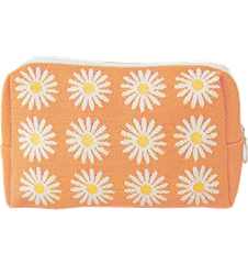 Pochette 18cm Marguerite Orange