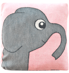 Cushion 30 cm Elephant Pink