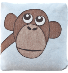 Cushion cover 30x30 Monkey Blue
