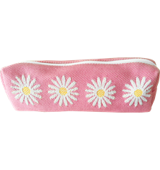 Pencil case Daisy Pink