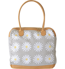 Handbag Daisy Light-grey