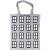 Tote bag Small Windows Grey
