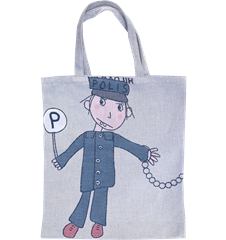 Tote bag Small Police