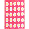 Towel Egg Small Red Pink