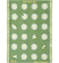 Towel Daisy Green
