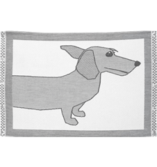 Table mat Dachshund Head
