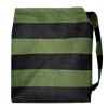 Messenger bag Stripe Green/Black