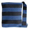 Messenger bag Stripe Jeans blue