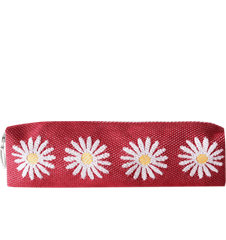 Pencil case Daisy Red
