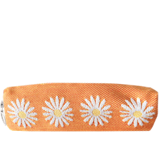 Pencil case Daisy Orange