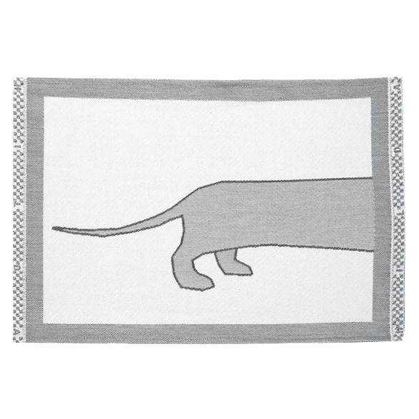 Table mat Dachshund Tail
