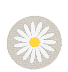 Coaster Daisy Light-grey