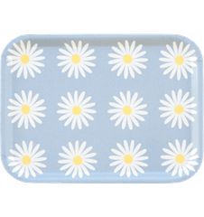 Tray Small Daisy Light-blue
