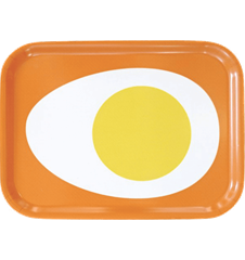 Tray Small Egg Orange