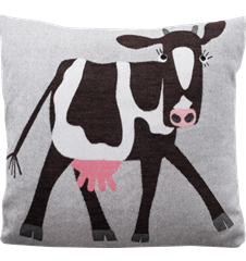 Cushion 45 cm Cow