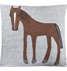 Cushion cover 45x45 Horse