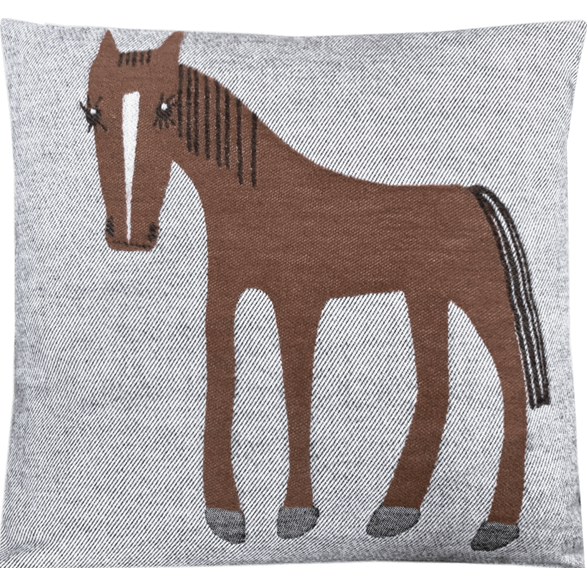 Cushion 45 cm Horse Soft