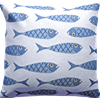 Cushion cover 45 cm Fish Small
