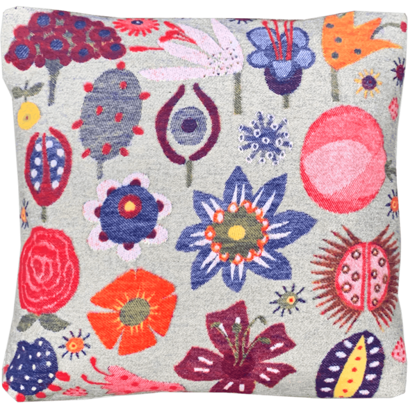 Cushion cover 45x45 Flowers soft