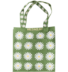 Tote bag Large Daisy Green
