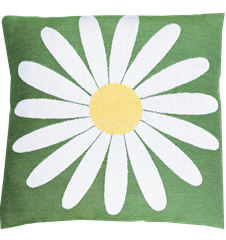 Cushion cover 30x30 Daisy Green