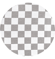 Seat cushion Checkered Grey