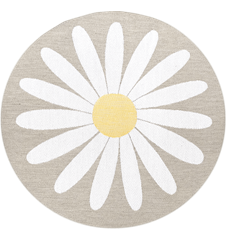 Seat cushion Daisy Light-grey