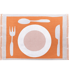Set de Table Assiette Orange