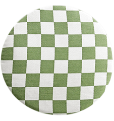 Seat cushion Checkered Green