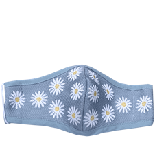 Mask Daisy Light Blue