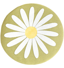 Seat cushion Daisy Lime