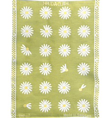 Essuie-mains Marguerites Lime