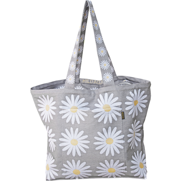 Beach bag Daisy Grey