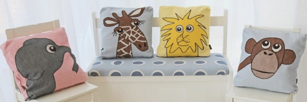 Cushion covers 30x30cm (12x12in)